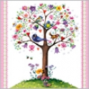 Servietten Vitage Love Tree 33x33 cm